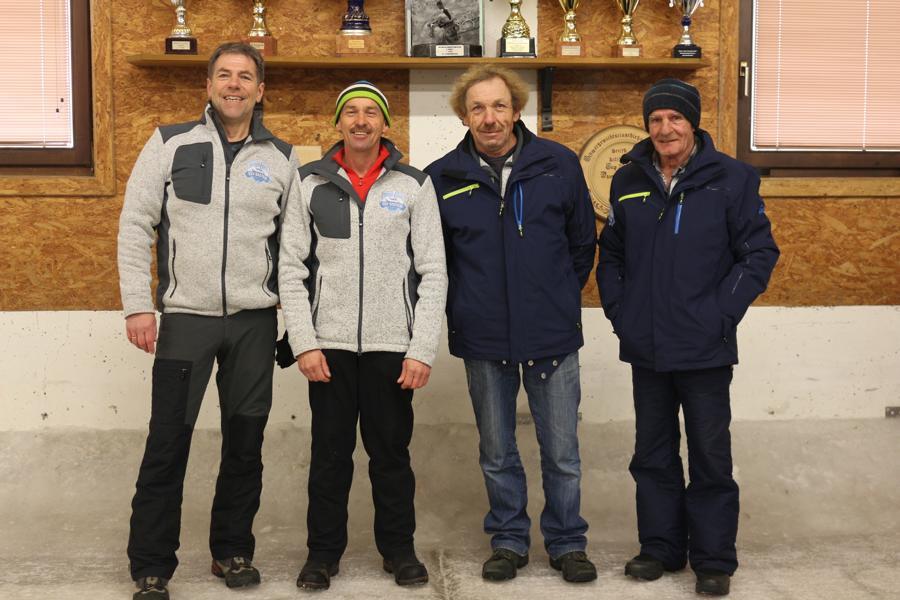 2. ESV Gasteig - Schneider Wolfgang, Wimmer Michael, Seibl Josef, Wimmer Edi,