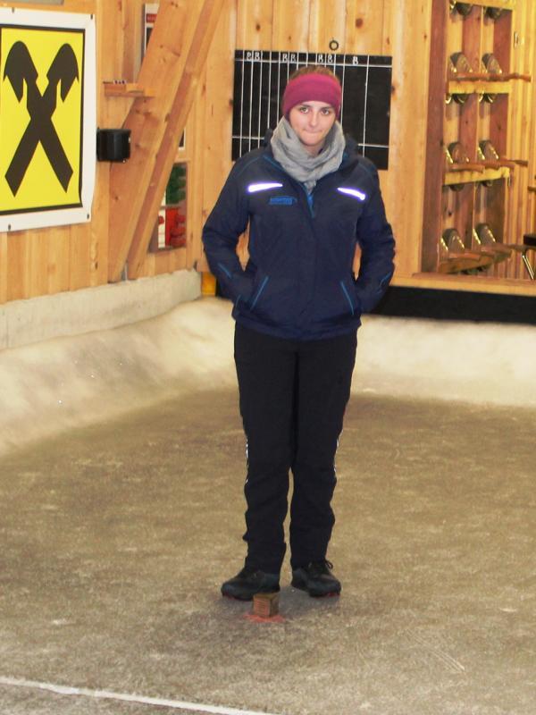 Michaela Strasser - U23 Bezirksmeisterin
