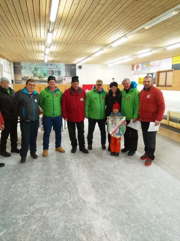 1. Platz: Oberndorf II - Stöckl Leonhard, Wibmer Clemens, Herma Heinz, Thaler Sepp