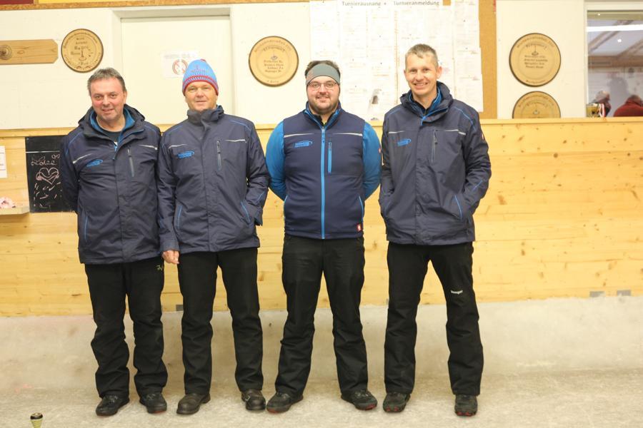 EC Brixen II - Kofler Andi, Gartner Hans, Strasser Christoph, Auberger Hubert