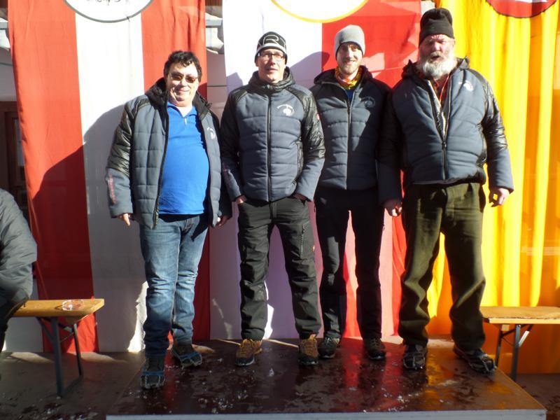 6. Platz: EC Rummlerhof: Martin Zöggeler, Christian Steiger, Andi Aberger, Markus Kogler