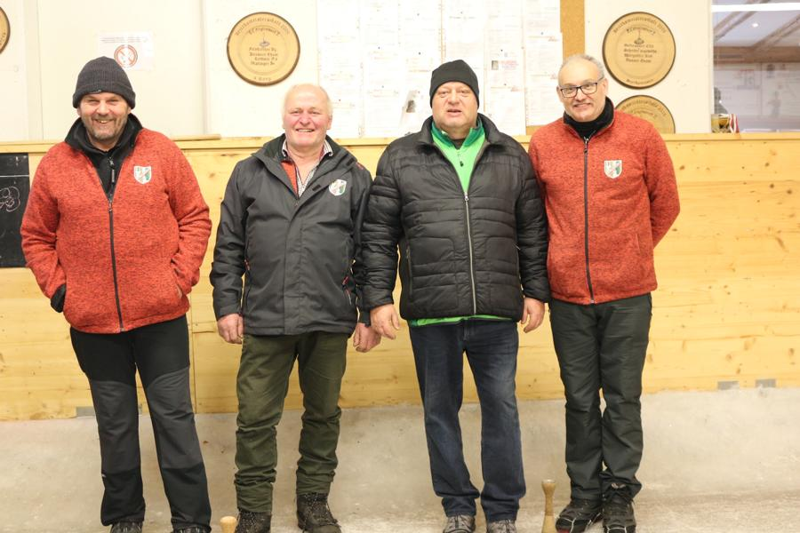 ESV Erpfendorf II - Resinger Hermann, Oberleitner Anton, Nothegger Michael, Inwinkl Anton