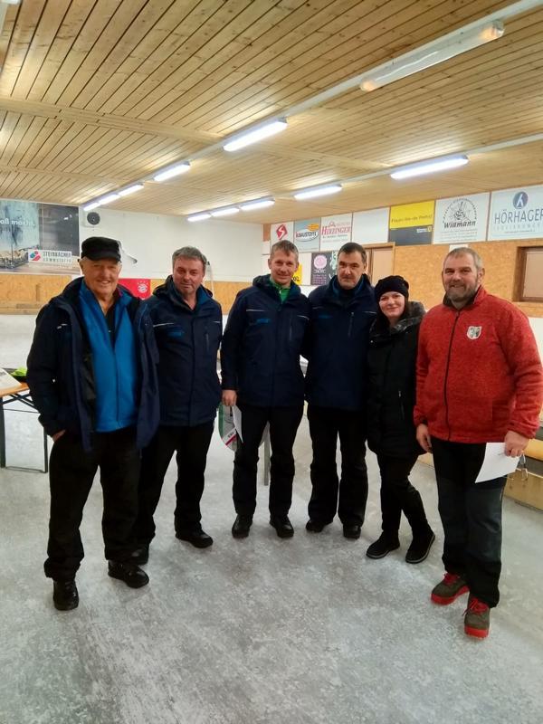 6 Platz: Brixen I - Auberger Hubert, Kofler Andi, Fuchs Josef, Exenberger Karli