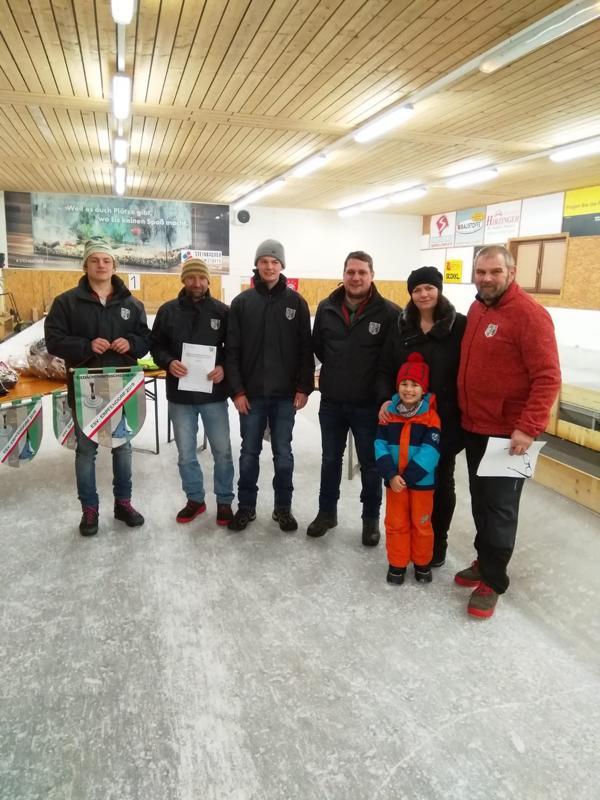 4. Platz: Erpfendorf III - Hechenbichler Markus, Bromberger Fabian, Resinger Johann, Loidl Wolfgang