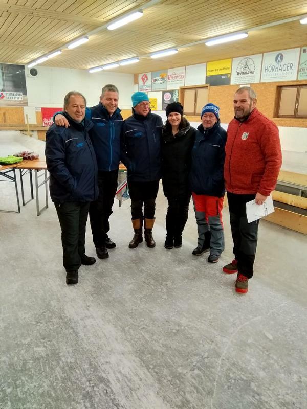 7. Platz: Brixen II - Strasser Rupert, Dummer Charly, Zwins Kurt, Exenberger Hansjörg