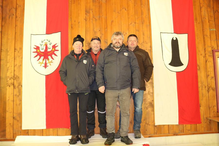 ESV Erpfendorf I - Mols Otto, Ehleben Stefan, Lechner Georg, Lechner Josef