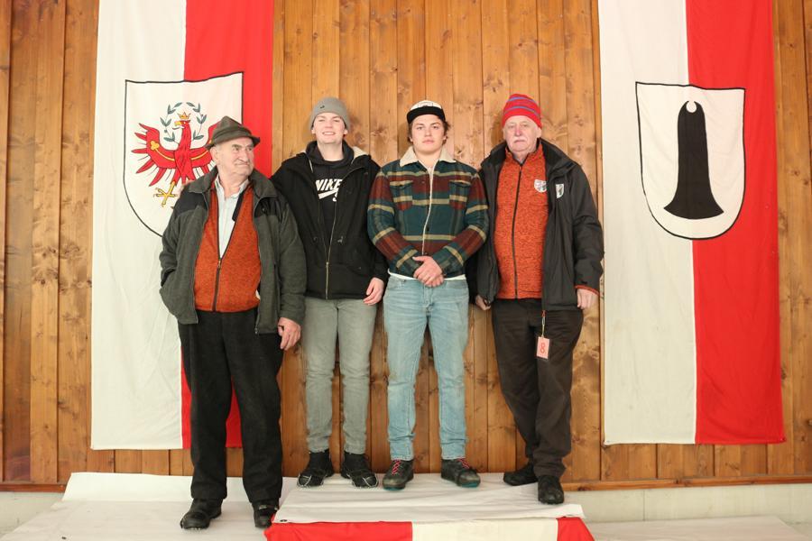 ESV Erpfendorf III - Daxauer Thomas,  Resinger Johann, Bromberger Fabian, Müller Horst