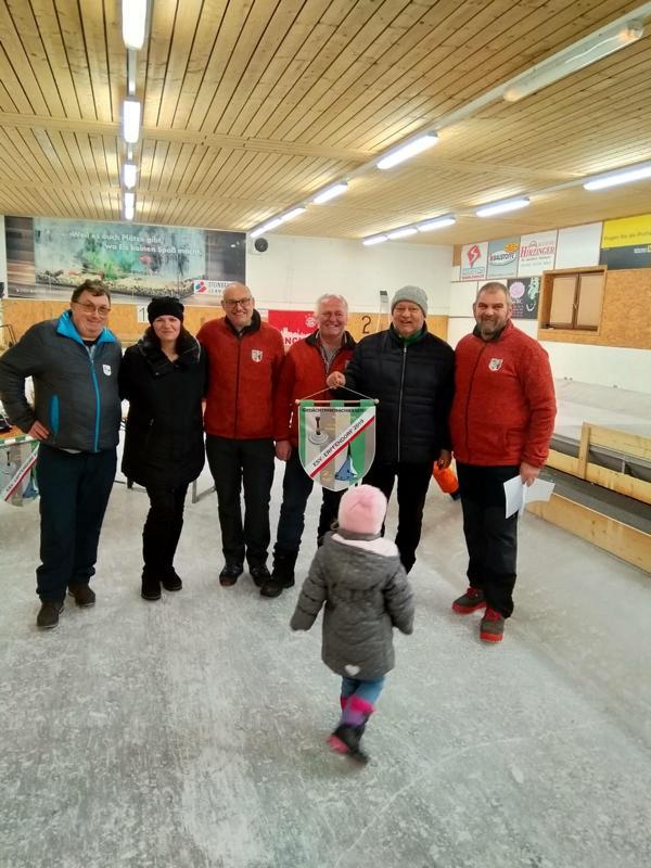 2. und 6. Platz: Erpfendorf I - Oberleitner Toni, Resinger Hermann, Inwinkl Toni, Nothegger Michael