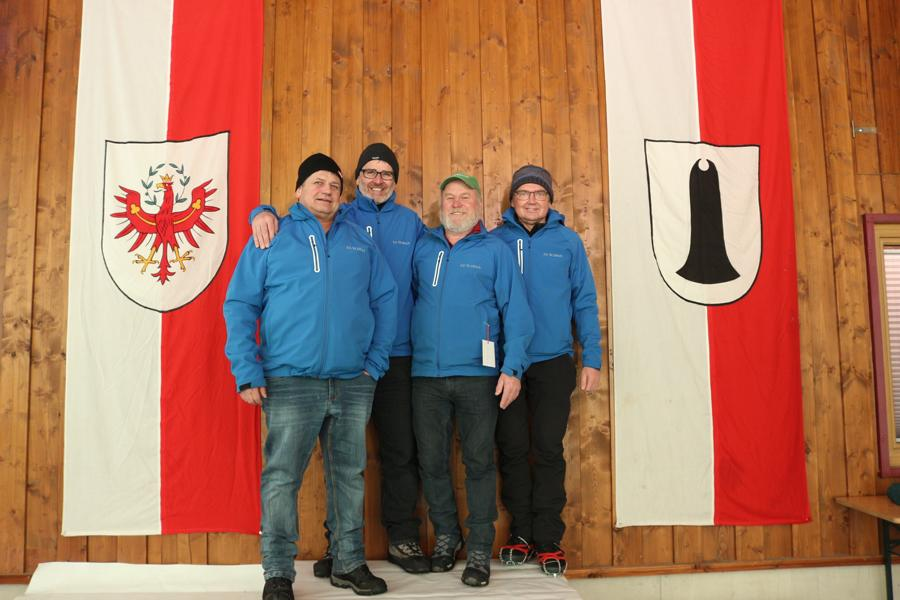 EV St. Ulrich II - Mitterer Richard, Nothegger Sebastian, Wörter Stefan, Reiter Klaus,