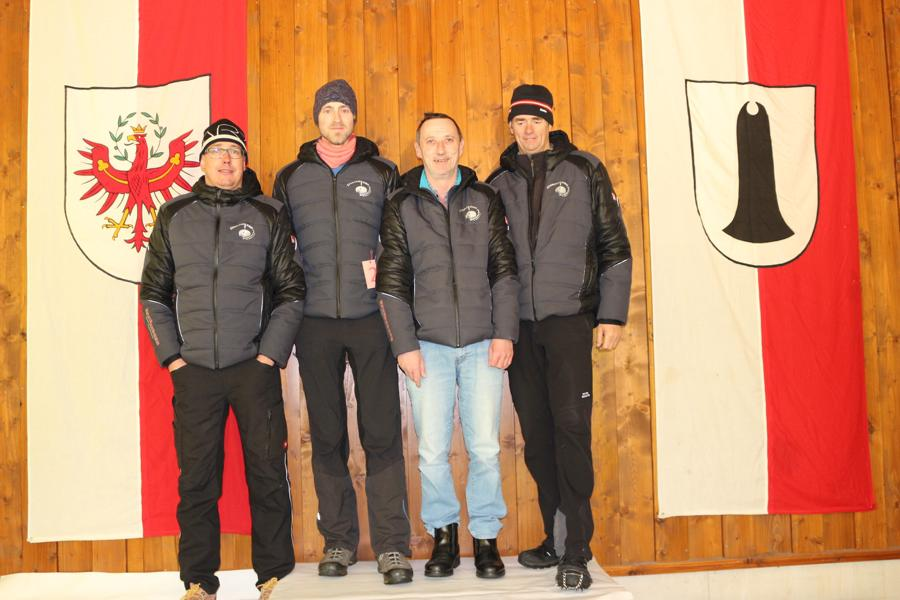 3. EC Rummlerhof II - Kogler Markus, Zöggeler Martin, Aberger Michael, Lackner Michael