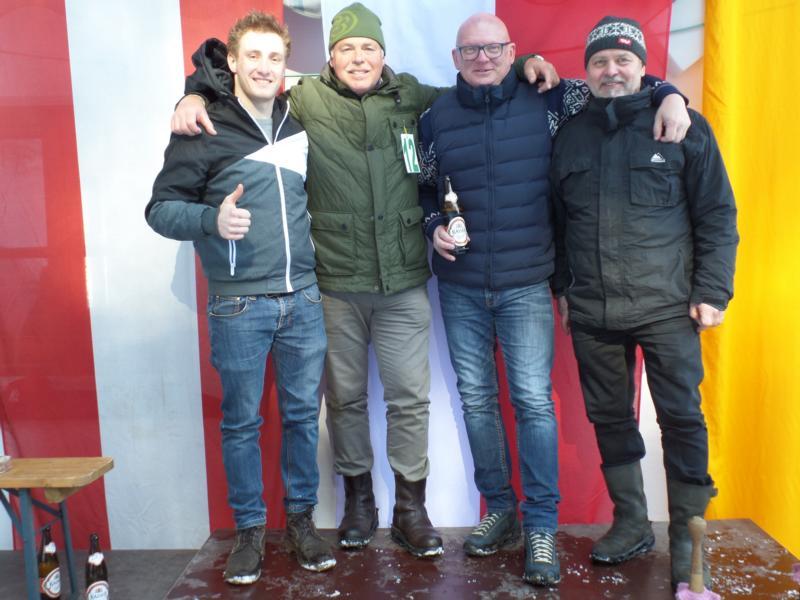 11. Platz: ESV Going I: Sebastian Resch, Andreas Natmessnig, Stefan Streif, Sandro Schipflinger