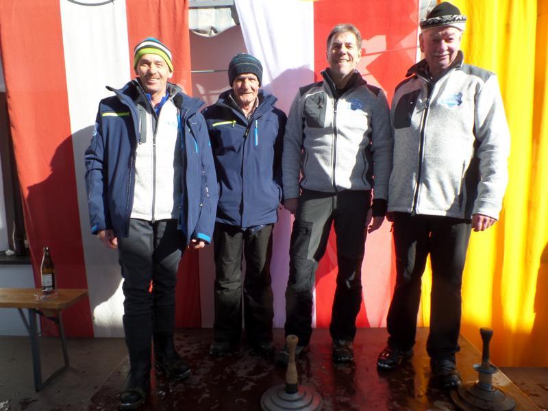 4. Platz: ESV Gasteig: Michael Wimmer, Edi Wimmer, Toni Harasser, Wolfgang Schneider