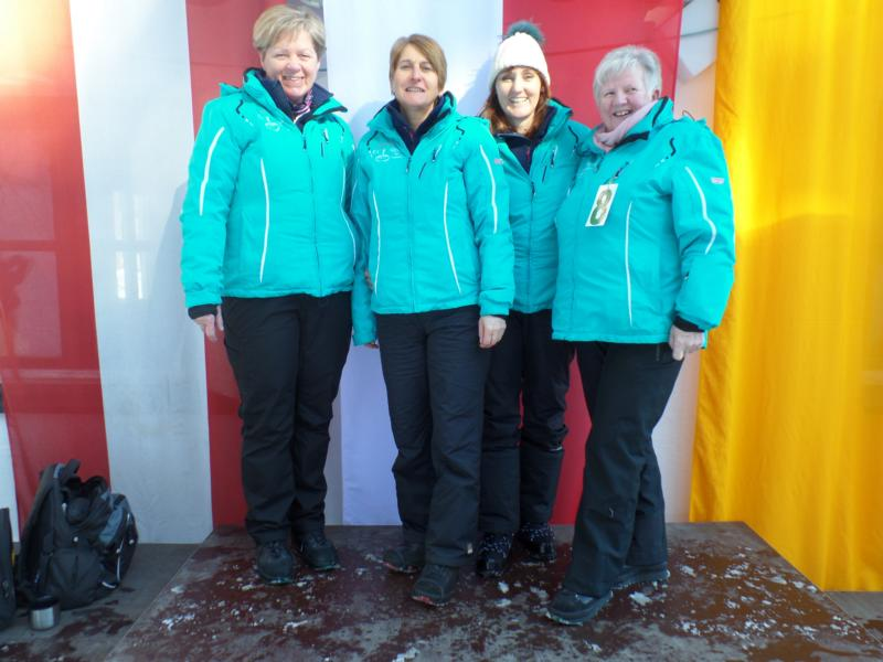 6. Platz: EC Reith: Anni Brugger, Waltraud Reiter, Gertrud Adelsberger, Christine Adelsberger