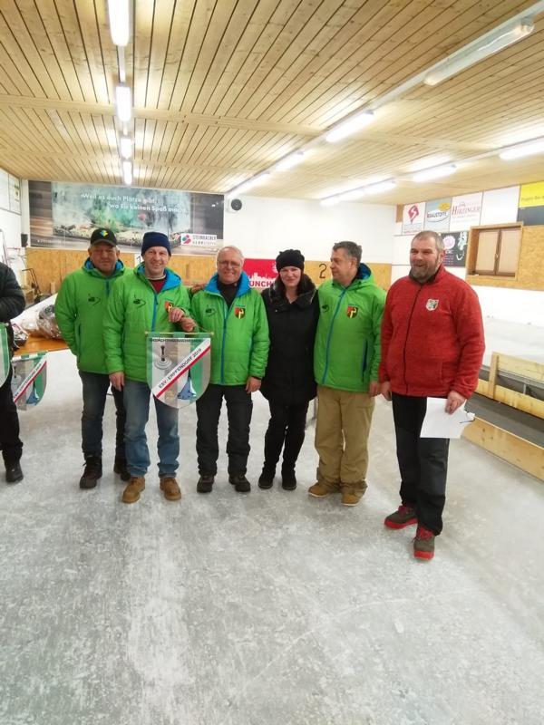 3. Platz: Oberndorf I - Singer Franz, Singer Alex, Hörl Manfred, Vollstuben Rudi
