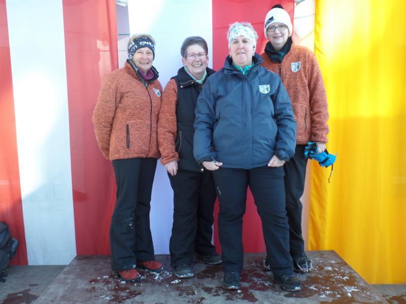 5. Platz: ESV Erpfendorf II: Susanna Schreder, Sigi Inwinkl, Andrea Pumberger, Brigitte Müller
