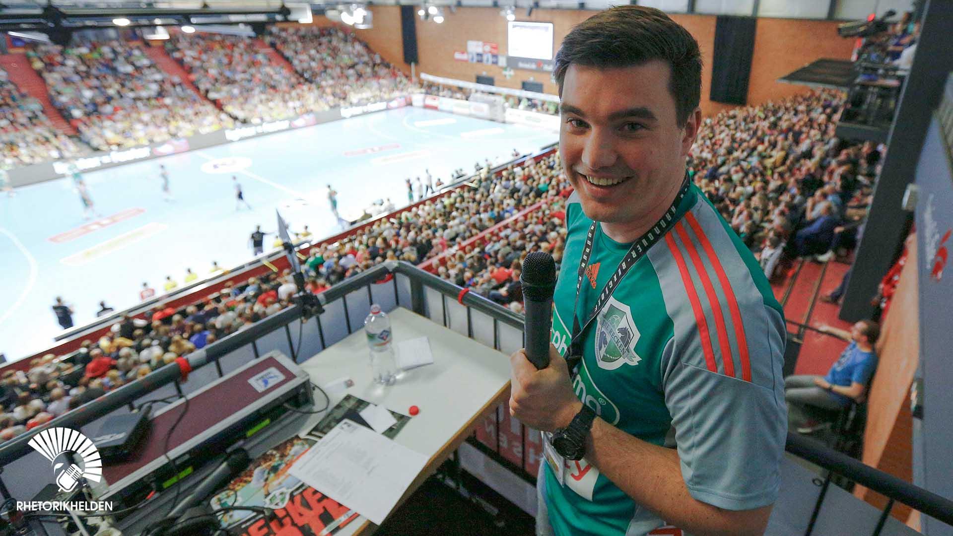 Sport-Moderator in Leipzig gesucht - Tim Christopher Gasse buchen