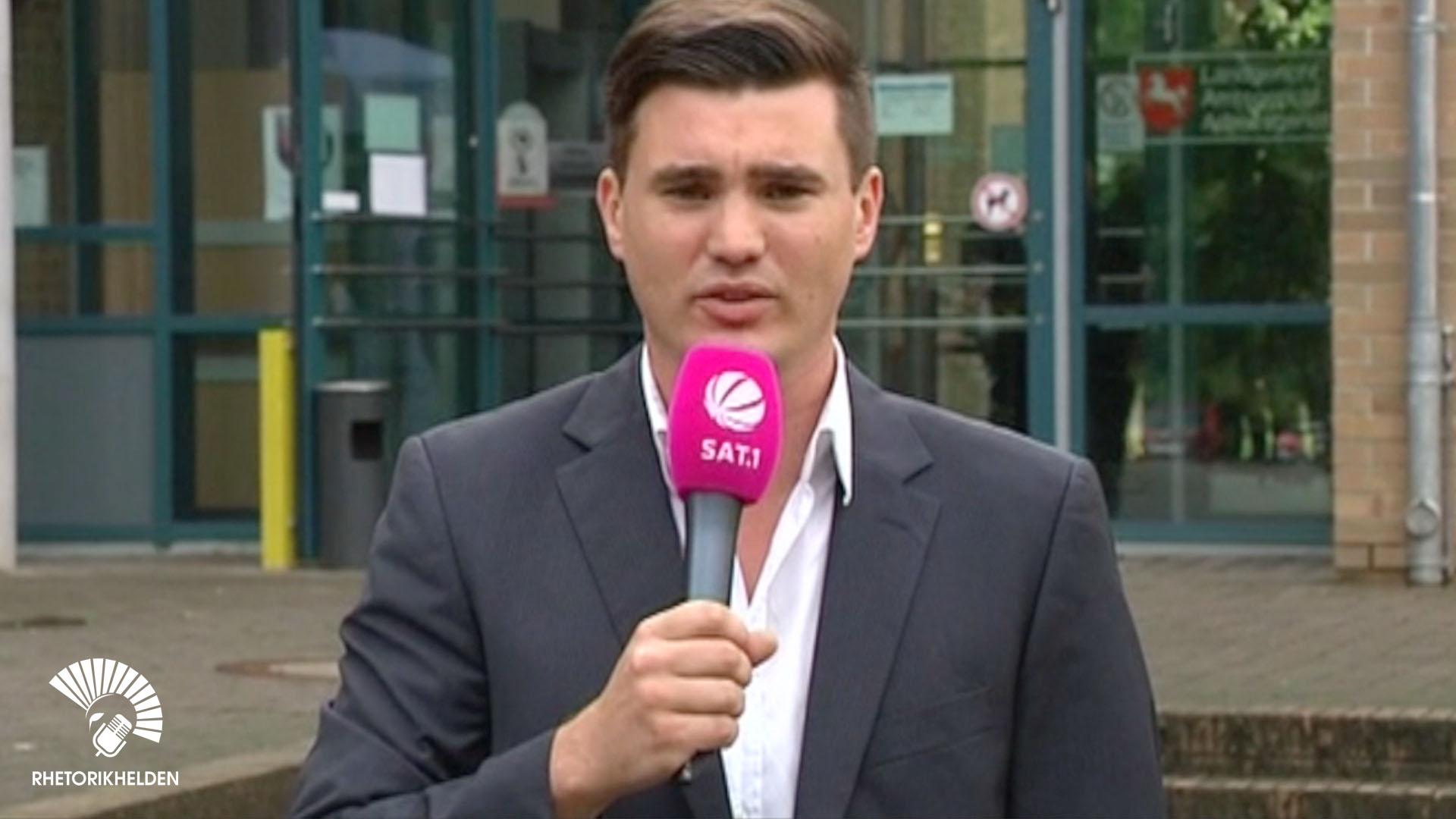 TV Moderator und Reporter Tim Christopher Gasse in Leipzig