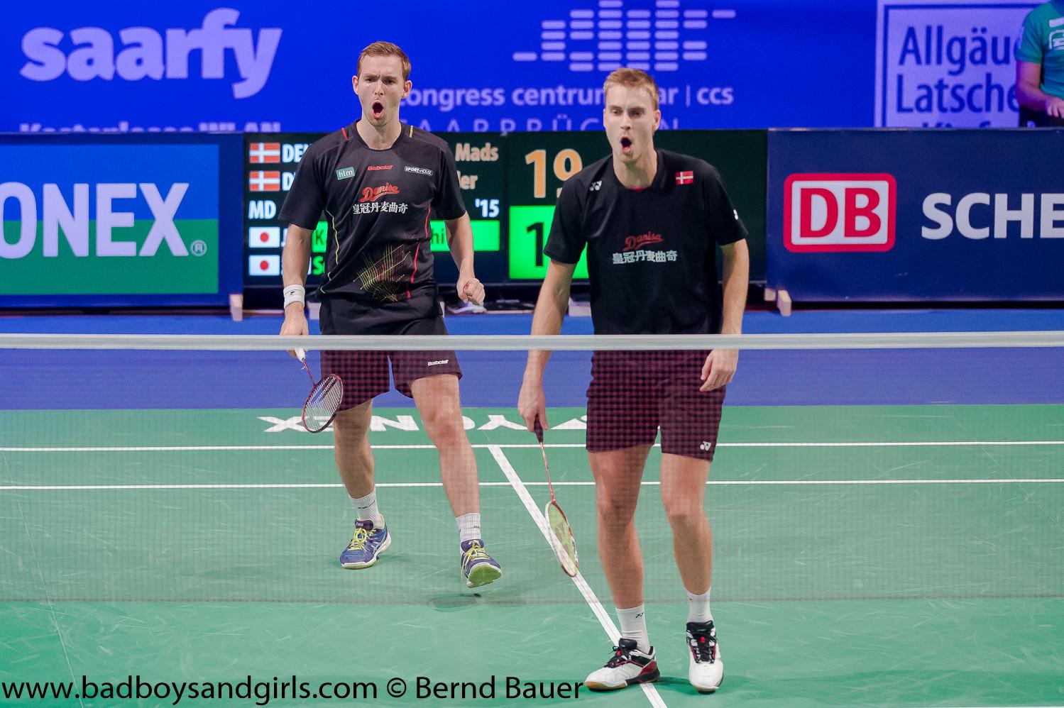 Maß aller Dinge waren die Dänen Conrad und Kolding, die ihren Sieg von 2013 wiederholen konnten.
