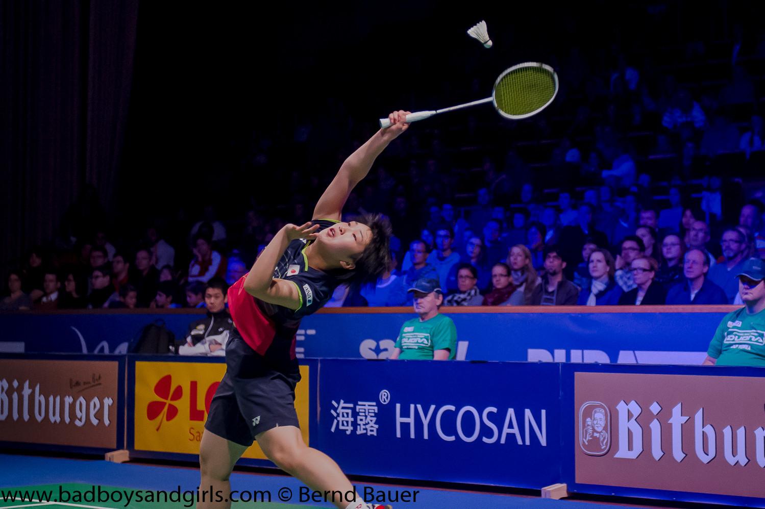 Am Ende gewann die gerade einmal 18 Jahre junge Akane Yamaguchi aus Japan in einem spannenden Finale!