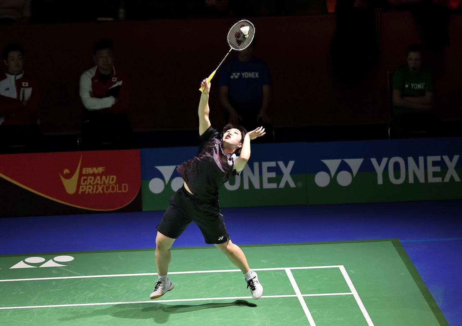 Starke Frauenpower aus Japan: Akane Yamaguchi. Sie steht im Halbfinale des Dameneinzels