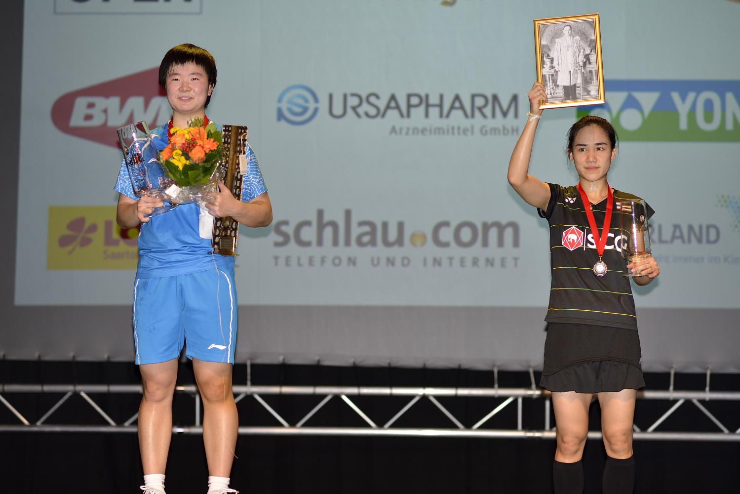 Der neue Star bei Chinas Einzeldamen: He Bingjiao holt nach den French Open auch den Titel in Saarbrücken