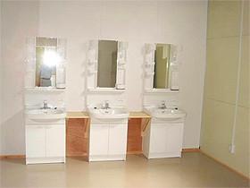 入浴施設及び洗面所が完成