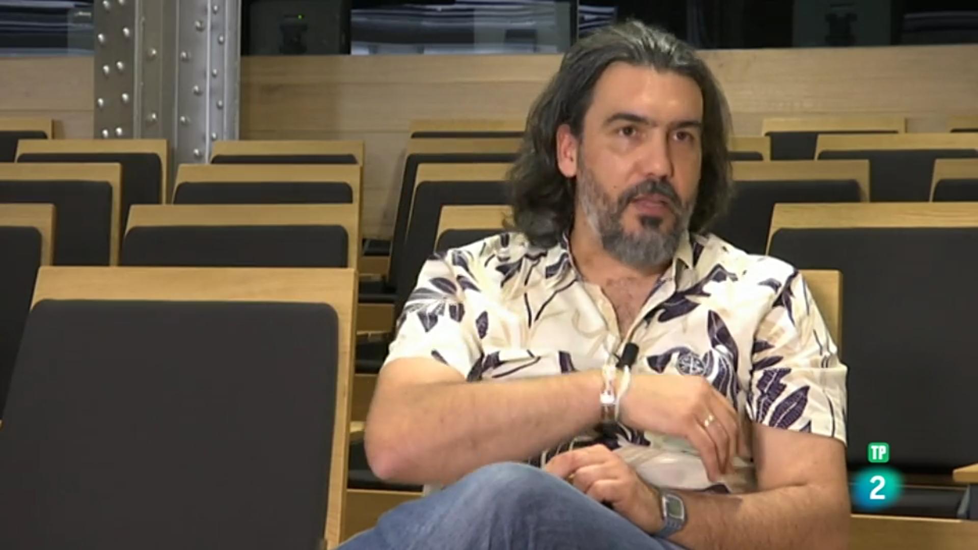 Entrevista al director del programa. La Aventura del Saber. La 2 de TVE.
