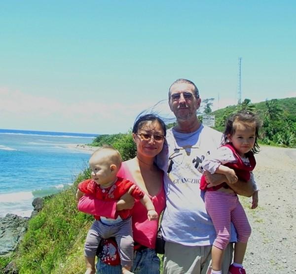Mein Sohn, Schwiegertochter (die 2.) mit Jaijai und Leon, der Jüngste
