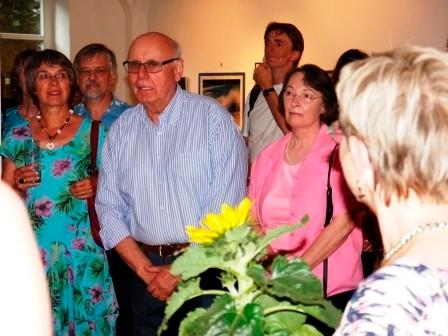 Vernissage: 20 Jahre Mohr-Villa Artothek im Gewölbesaal der Mohr-Villa am 3. Juli 2015