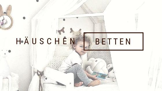 Häuschen Betten / Kinderbetten / Massivholz