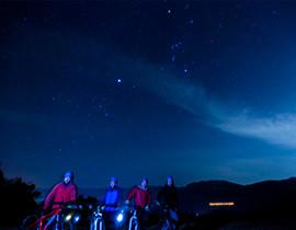 満点の星空の下歩く『ナイトハイク』