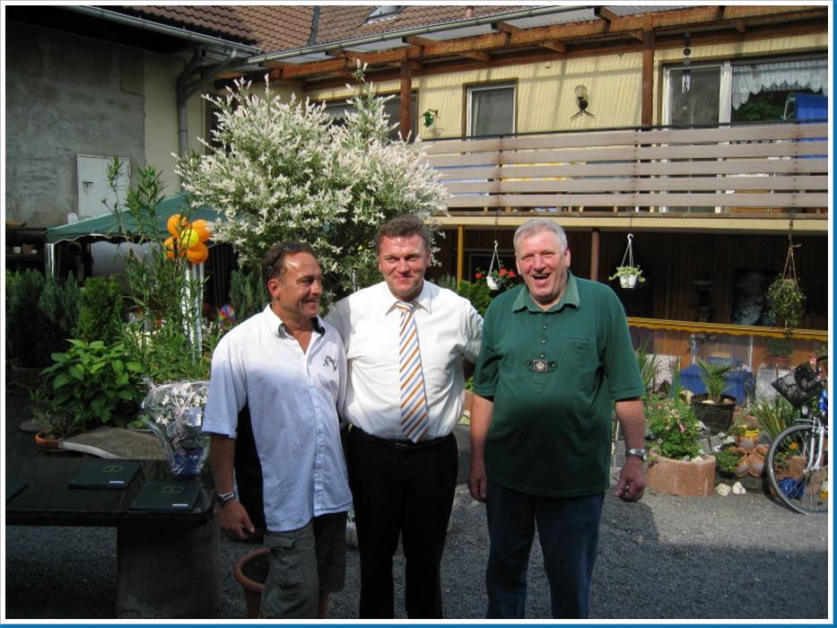 Verbandsgemeinde Bürgermeister Mohr & Ortsbürgermeister Becker
