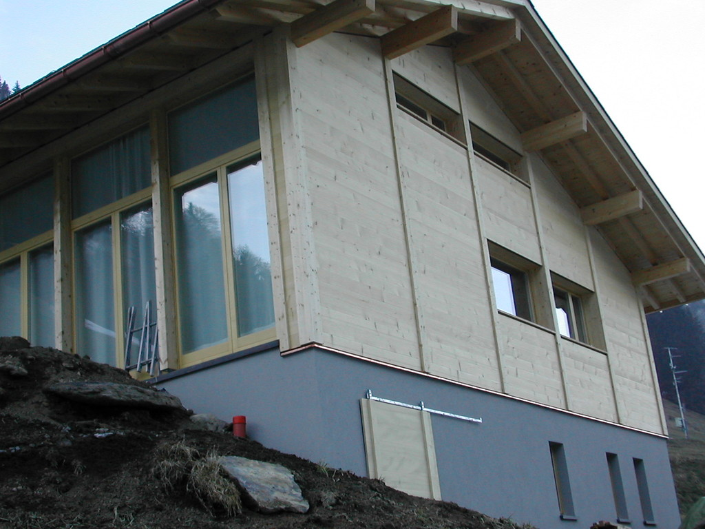 Neubau Ferienhaus