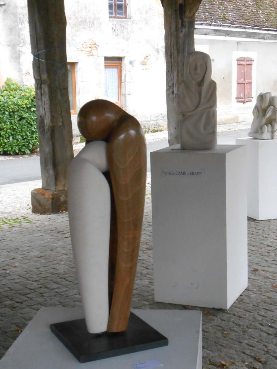 Patricia Camillerapp et Christian Valette (prix de sculpture)