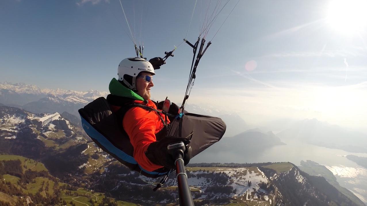 Über Rigi-Kulm auf 2100 müm