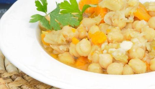Kichererbsen - Stew mit Zitrone