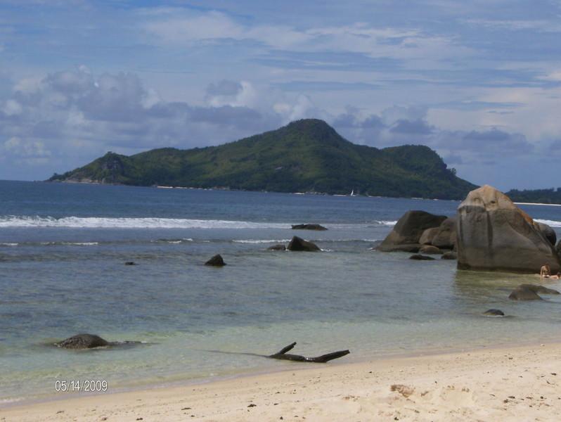 Insel St Anne von Northeast Point aus