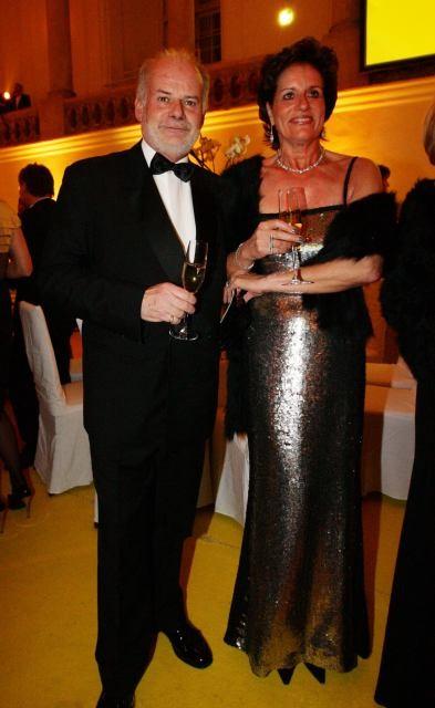 Dr. Manfred Ainedter und Gattin