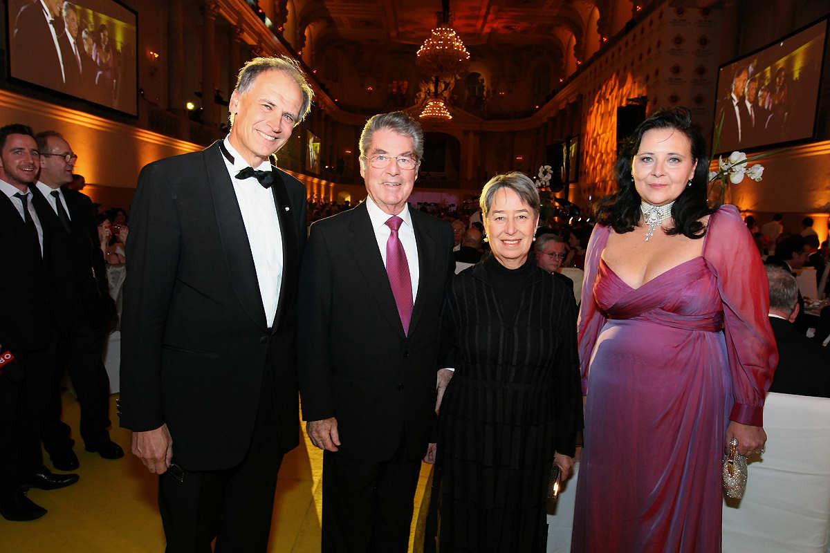 100 Jahr Feier mit Bundespräsident Dr Fischer und Gattin Dezember 2010