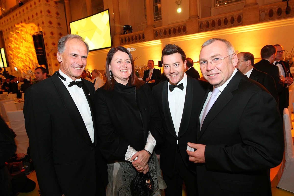 100 Jahr Gala mit Herrn Benko, Bundeskanzler Alfred Gusenbauer und Gattin Eva Steiner