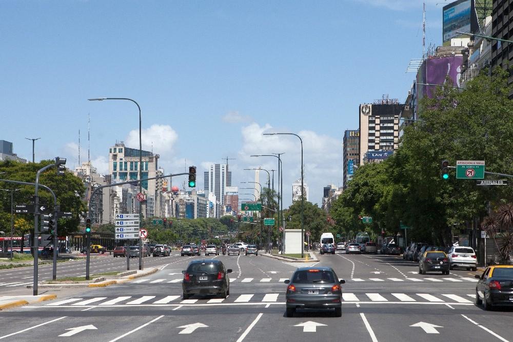 Buenos Aires / Straße des 17. Juni