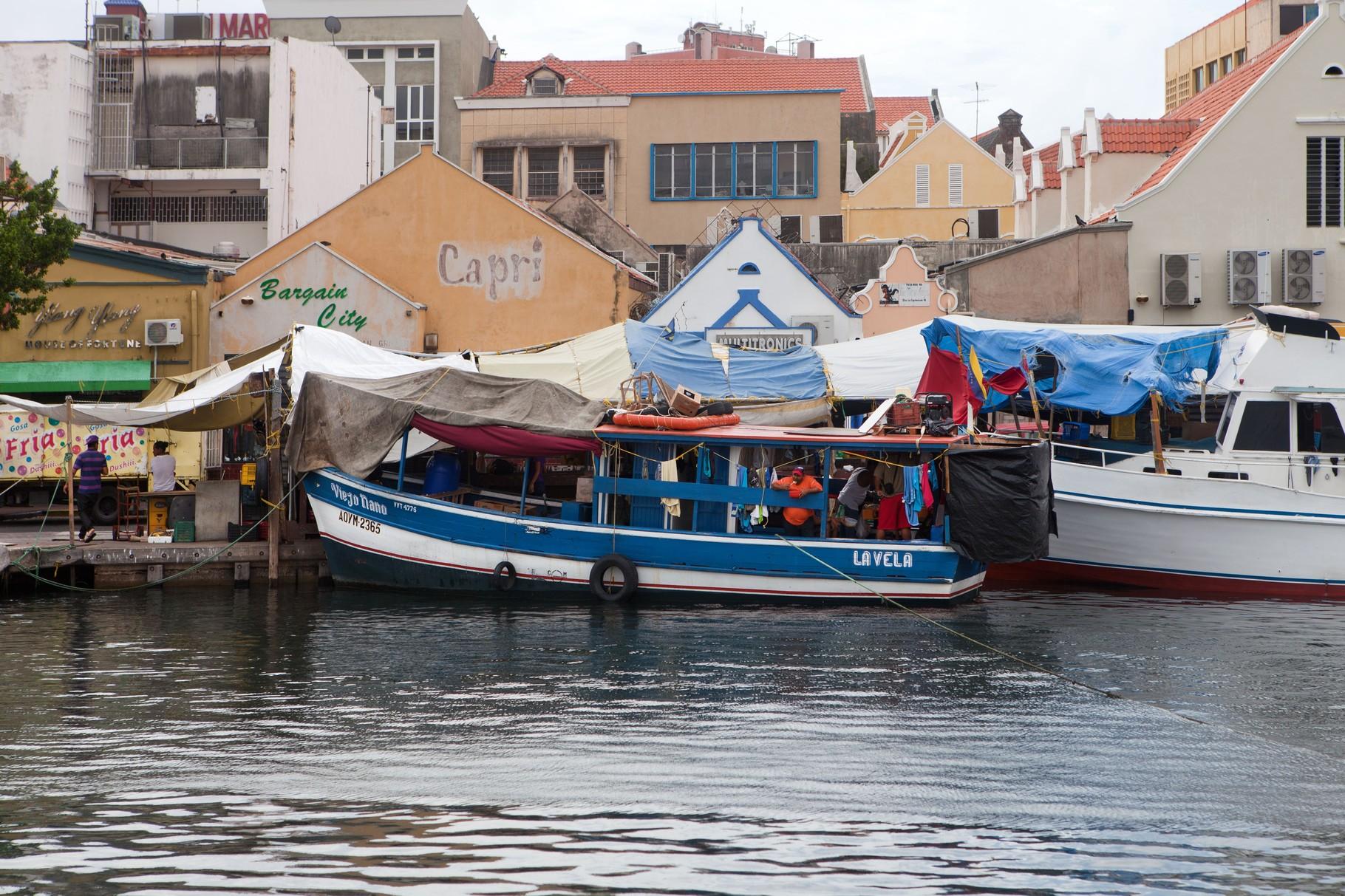 Curaçao Willemstad schwimmender Markt