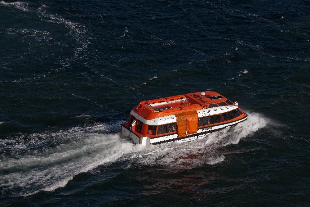 Falklandinseln  / Tenderboot