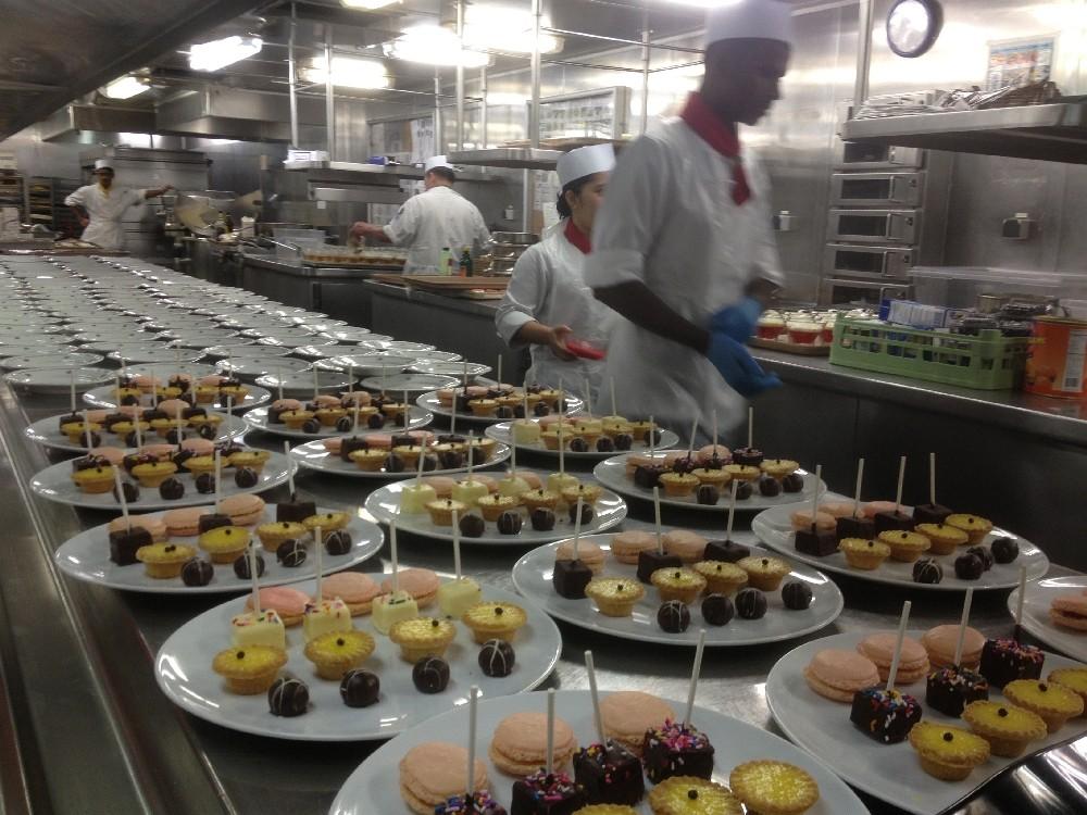 Celebrity Infinity / Küche