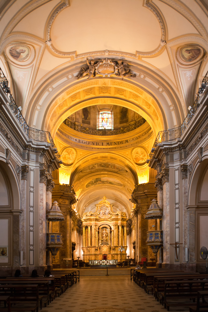 Buenos Aires / Kathedrale Metropolitana Santísima Trinidad