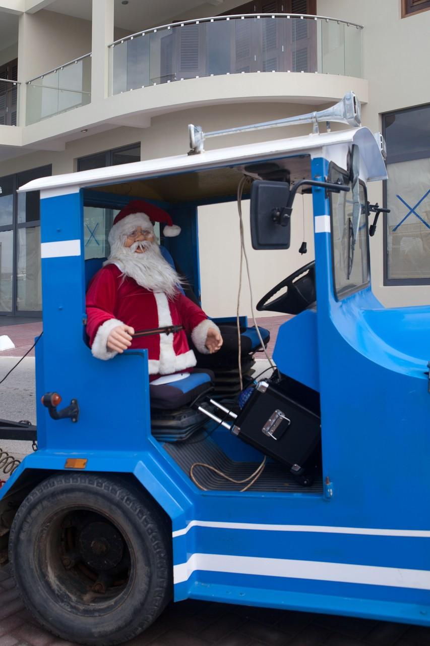 Weihnachtsmann auf Bonaire Kralendijk