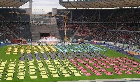 Turngala im Berliner Olympiastadion - 55000 Zuschauer erleben eine tolle Show