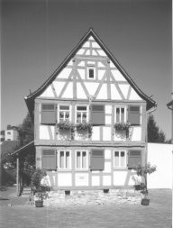 Half-timbered house of 1765