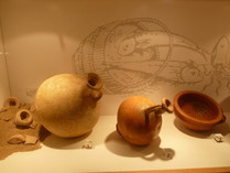 Strainers and relief bowls made out of Terra Sigillata