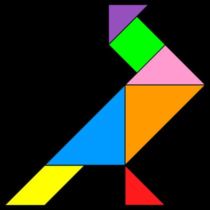 Tangram Pigeon